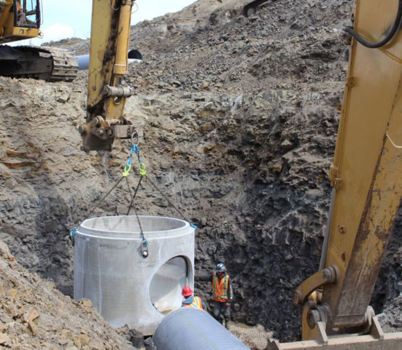 Deep Utility Trenching